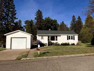 Ishpeming Single Family Home For Sale: 811 Hemlock St