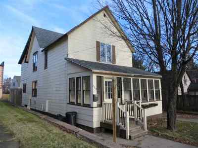 Ishpeming Single Family Home Pending w/Contingency: 137 Vine St