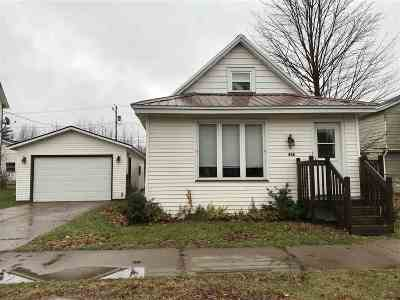 Negaunee Single Family Home For Sale: 428 Cherry St