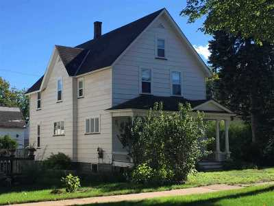 Negaunee Single Family Home New: 218 E Clark