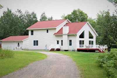 Ishpeming Single Family Home Pending w/Contingency: 5150 Co Rd 581