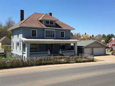 Ishpeming Single Family Home For Sale: 627 N Third St