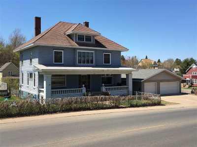 Ishpeming Single Family Home Pending w/Contingency: 627 N Third St