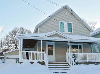 Marquette Single Family Home Pending w/Contingency: 433 Rock St