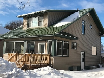 Ishpeming Single Family Home Pending w/Contingency: 819 N First St