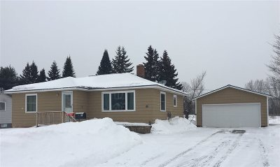 Ishpeming Single Family Home Pending w/Contingency: 512 W Division St