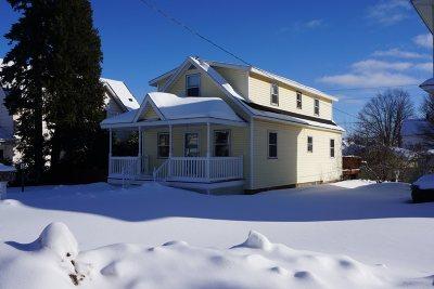 Negaunee Single Family Home Pending w/Contingency: 214 E Clark St