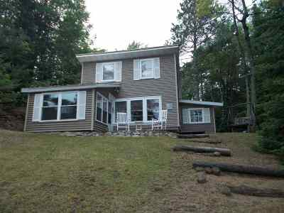Alger County Single Family Home For Sale: E195 Sand Lake Rd