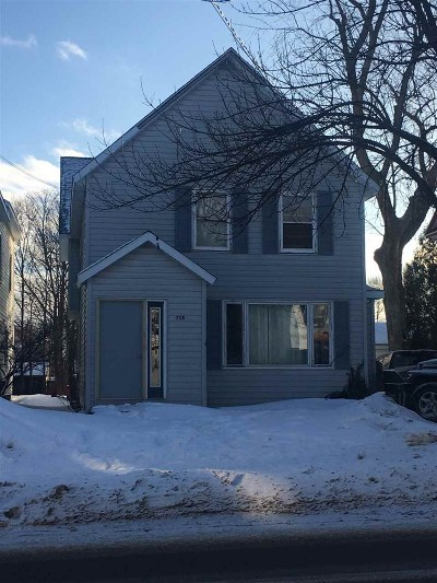 Marquette Single Family Home For Sale: 718 N Front St