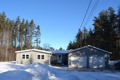 Negaunee MI Single Family Home Pending w/Contingency: $127,999