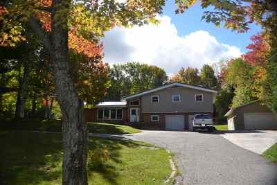 Ishpeming Single Family Home Pending w/Contingency: 335 Deer Lake Rd