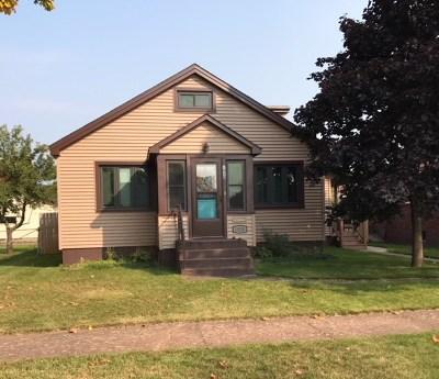 Negaunee Single Family Home Price Change: 1020 Oak St
