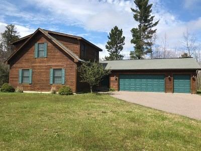 Gwinn Single Family Home For Sale: 210 E Johnson Lake Rd
