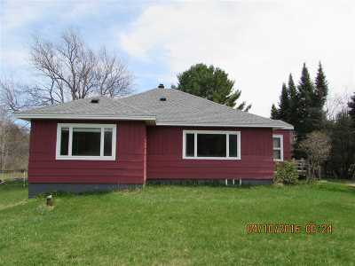 Munising Single Family Home For Sale: N7094 Connors Rd