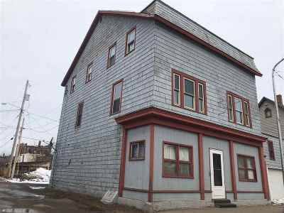 Ishpeming Multi Family Home For Sale: 208 S Second St