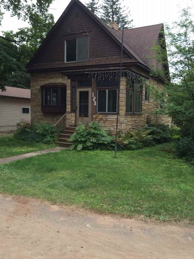 Gwinn Single Family Home For Sale: 143 N Maple