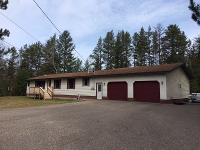 Negaunee Single Family Home For Sale: 96 E Wilderness Rd