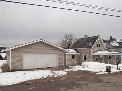 Negaunee Single Family Home Pending w/Contingency: 236 Water