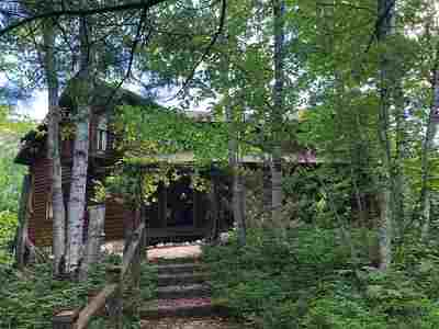 Munising Single Family Home For Sale: N4003 16 Mile Lake Rd