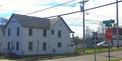 Marquette Multi Family Home Pending w/Contingency: 247 Fisher St