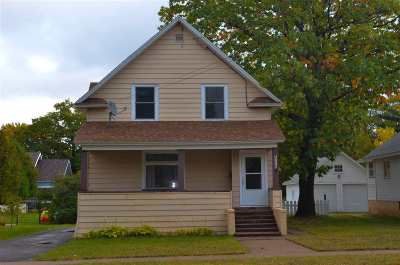 Marquette Single Family Home Pending w/Contingency: 1218 N Front St