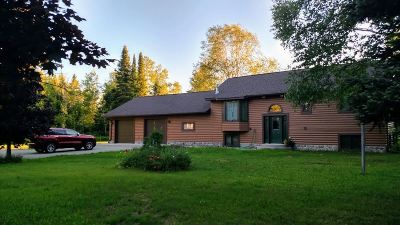 Munising Single Family Home Pending w/Contingency: N7387 Miners Castle Rd