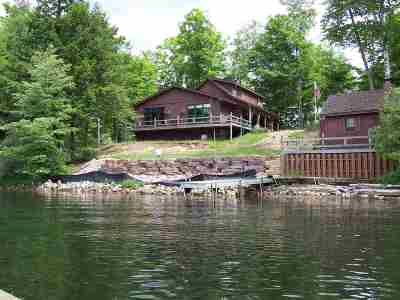 Gwinn Single Family Home Pending w/Contingency: 1450 W Shag Lake Rd