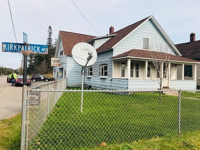 Palmer MI Single Family Home For Sale: $128,900