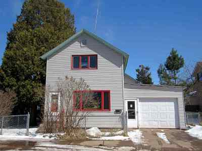 Ishpeming Single Family Home For Sale: 345 S First St