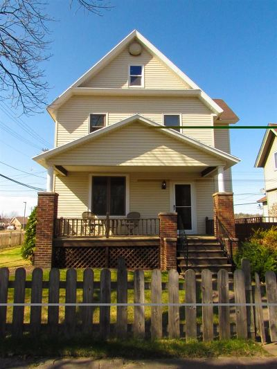 Negaunee Single Family Home Pending w/Contingency: 501 Prince St