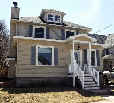 Marquette Single Family Home Pending w/Contingency: 337 Alger St
