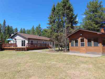 Ishpeming Single Family Home For Sale: 124 North Camp Rd