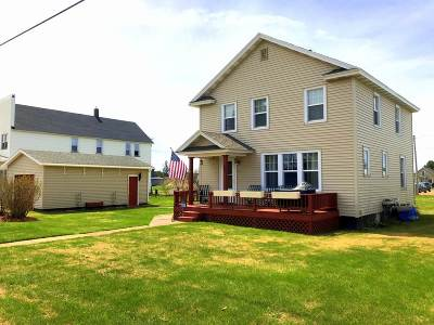 Gwinn Single Family Home For Sale: 91 N Billings St