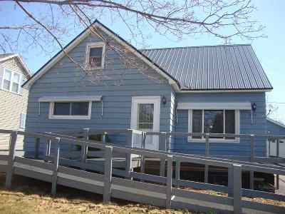 Ishpeming MI Single Family Home Pending w/Contingency: $99,900