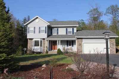 Marquette Single Family Home For Sale: 2809 Granite Pointe Dr