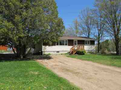 Michigamme Single Family Home For Sale: 309 Maple St