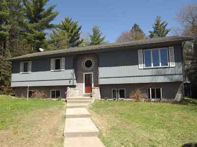 Ishpeming Single Family Home Pending w/Contingency: 1035 W Riverview Dr
