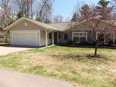Marquette Single Family Home Pending w/Contingency: 112 Forest Ridge Dr