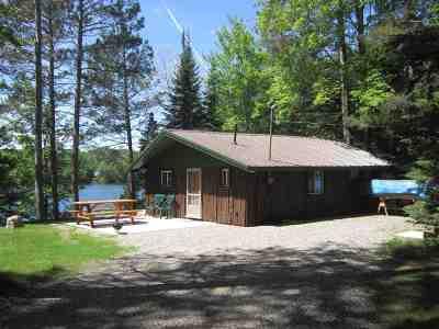 Munising Single Family Home Pending w/Contingency: N1121 Tie Lake Rd