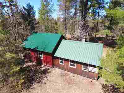 Munising Single Family Home Pending w/Contingency: 6498 Doe Lake Rd