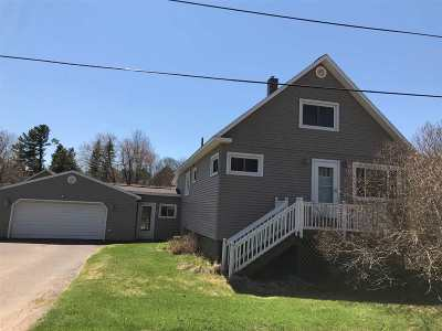 Ishpeming Single Family Home New: 105 Marble