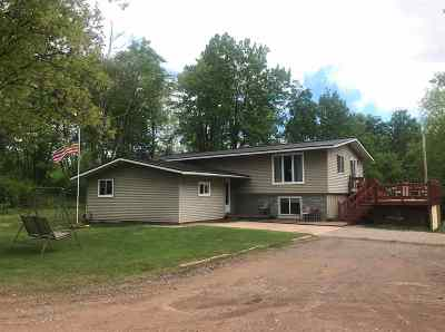 Ishpeming Single Family Home For Sale: 501 Co Rd Cg