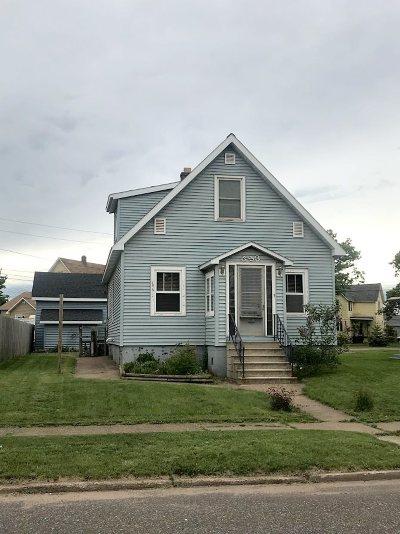 Negaunee Single Family Home Pending w/Contingency: 533 Elm St