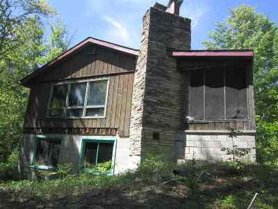 Munising Single Family Home For Sale: N1230 Tie Lake Rd