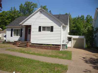 Marquette MI Single Family Home For Sale: $159,900