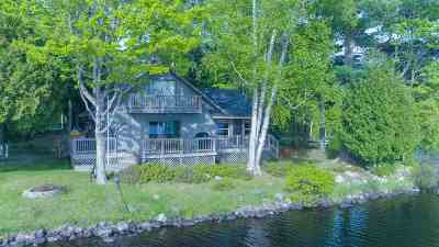 Michigamme Single Family Home For Sale: 21714 Petticoat Lake Rd
