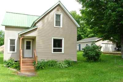 Ishpeming Single Family Home Pending w/Contingency: 255 Silver St