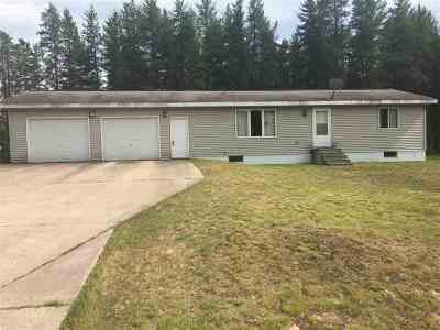 Ishpeming Single Family Home For Sale: 460 N Camp Rd