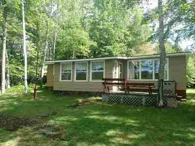 Gwinn Single Family Home Pending w/Contingency: 1250 W Little Shag Lk Rd