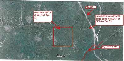 Residential Lots & Land For Sale: Co Rd 550